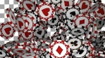 Poker Chips Transitions