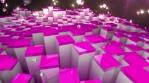 Glow Boxes 4K Vj Loop 03
