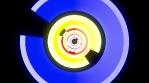 Neon Circle Tube 4K Vj Loop 02