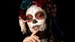 Candy Skull Mexico Dead Skeleton Festival Celebration Woman Make-Up