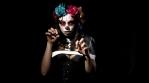 Candy Skull Mexico Dead Skeleton Festival Celebration Woman Make-Up