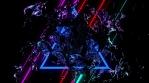 Fluid Neon Beat 4K Vj Loop 03