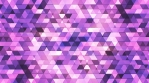 Broadcast Twinkling Polygon Hi-Tech Triangles, Purple, Abstract, Loopable, 4K