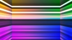 Broadcast Twinkling Horizontal Hi-Tech Bars Shaft, Multi Color, Abstract, Loopable, 4K