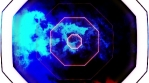 Looping motion background science fiction abstract CG