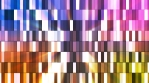 Broadcast Twinkling Hi-Tech Small Bars, Multi Color, Abstract, Loopable, 4K