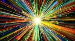 Colorful Cinematic Lines Bursting