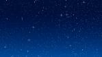 Moving stars on black/black background