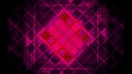 Bright magenta and black looping geometric VJ abstract animated background