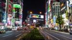 Akihabara Electric Town Time lapse traffic 007 4k