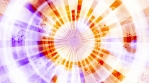 New retro abstract multicolored animated looping CG background