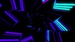 Neon Light Spiral 4K Vj Loop 01