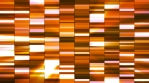 Twinkling Horizontal Small Squared Hi-Tech Bars, Orange, Abstract, Loopable, 4K