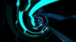 Tunnel Spiral Neon 4K Vj Loop 05