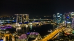 Singapore Cityscape Nightlapse