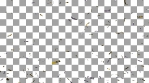 Confetti Gold Silver foil Loop