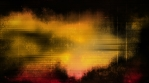 Grunge fast paced looping animated red orange and black abstract background