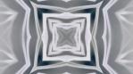 kaleidoscope loop white grey analog flower and shapes 005