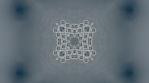 kaleidoscope loop white grey analog flower and shapes 006