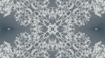 kaleidoscope loop white grey analog flower and shapes 009