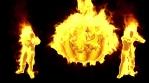 Burning Halloween 4K Vj Loop 01