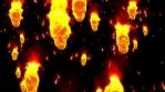 Burning Halloween 4K Vj Loop 05