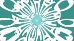 Seamless Loop Whimsical Spinning Green V1 Circular Gel