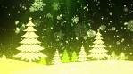 Christmas Tree Snow 1