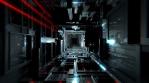 VJ Futuristic Dark Tunnel