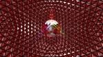 4K UHD Multicolor Glittering Disco Ball Video