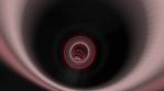 Flashing Red Rings Loop Animation