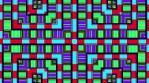 Pixel Led Pattern 4K Vj Loop 01