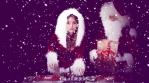Christmas Santa Claus Sexy Female Disco Party Festival Dj Djing Club