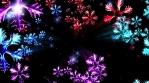 New Year Snow 4K Vj Loop Background