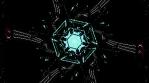 Crystal Snowflakes 4K Vj Loop 04