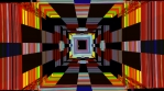 Squares Tunnel 2D