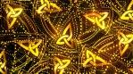 Gold Glitter 4K Vj Loop 01