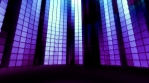 Neon Tiles Light Stage Revolving - Retro Future Purple - Vertical Lines
