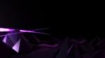 Low Poly World VJ Loop - V1 - Retro Futur Purple