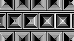Art Deco Geometry Squares Pattern