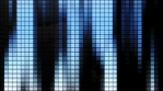 Neon Tiles Wall Light 4K - Vertical Lines - Blue Gradient