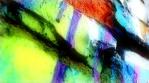 Paintings and Brick Wall close up x2 lightglow