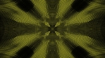Yellow with a green tint on black high tech VJ loop background