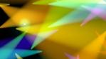 Pride - Rainbow moving light beams