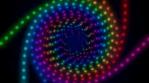 Pride - Rainbow Dot Spiral - Seamless