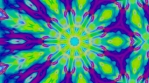 trippy colorful kaleidoscope