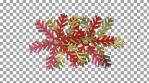 WastedWinterWonderland 1 - snowflake_pattern_06goldred