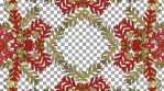 WastedWinterWonderland 1 - snowflake_pattern_10goldred