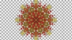 WastedWinterWonderland 1 - snowflake_pattern_11goldred
