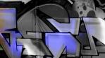Black white Dark Blue Graffiti Mix 2018